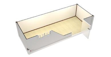 Casetas casetas de obra casetas prefabricadas casetas for Casetas de metal para jardin