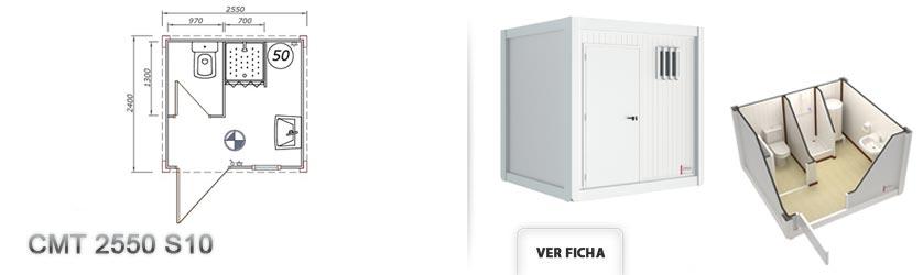 cabinas sanitarias prefabricadas, aseos prefabricados, baños ...