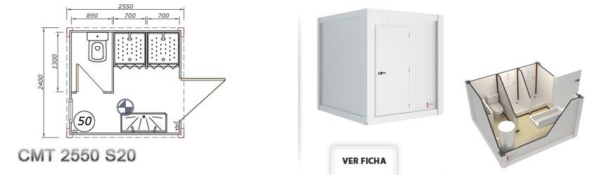 Cabinas sanitarias prefabricadas aseos prefabricados for Casetas para banos