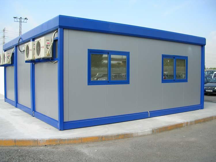 Oficinas prefabricadas oficinas modulares oficinas for Construccion de oficinas modulares