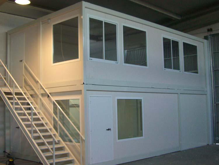 Oficinas prefabricadas oficinas modulares edificacion for Construccion de oficinas modulares