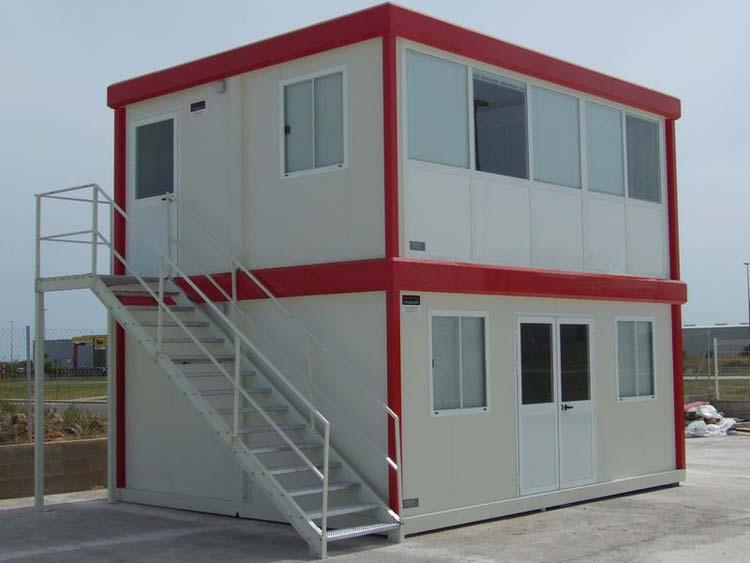 Oficinas prefabricadas de obra oficinas modulares de obra - Casa prefabricada navarra ...