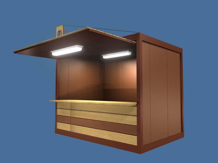 Modulos prefabricados casetas de obra para minusvalidos for Caseta de chapa desmontable