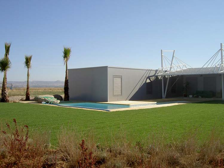 Viviendas prefabricadas viviendas modulares casas - Casa prefabricada navarra ...